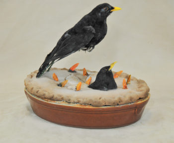 Blackbirds by Dennis Baker