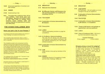 Conference Programme 2010